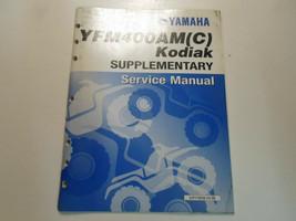 2000 Yamaha YFM400AM Kodiak Supplementary Service Shop Manual FACTORY NEW - $143.50