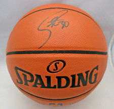 STEPHEN CURRY / GOLDEN STATE WARRIORS / AUTOGRAPHED FULL SIZE NBA BASKETBALL COA image 1