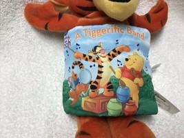 Disney Winnie The Pooh Tigger The Storybook Pillow Plush Book image 2