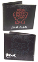 Berserk: Skull Knight Rose Emblem Cosplay Bi-Fold Wallet *NEW* - $19.99