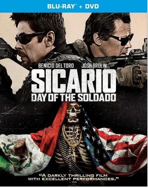 Sicario: Day Of The Soldado [Blu-ray+DVD]