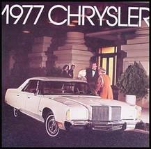 1977 Chrysler Dlx Brochure New Yorker Newport - $6.91
