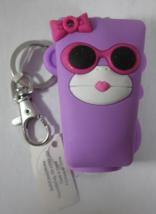 Bath & Body Works PocketBac Hand Sanitizer Holder Purple Girl Monkey Light-Up - $19.99
