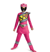 Disguise Pink Power Ranger Dino Charge Classic Costume, sz S/P - $21.84