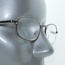 Reading Glasses +3.50 Simple No-Fuss Shiny Gunmetal Hematite Metal Frame Readers - $18.00