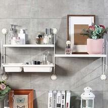 DekorFix Floating Shelf Wall Mounted DIY Floating Wall Shelves Modern Wh... - $86.11