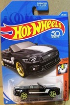 HOT WHEELS MUSCLE MANIA SERIES 2015 FORD MUSTANG GT CONVERTIBLE #2/10 OR... - $5.45