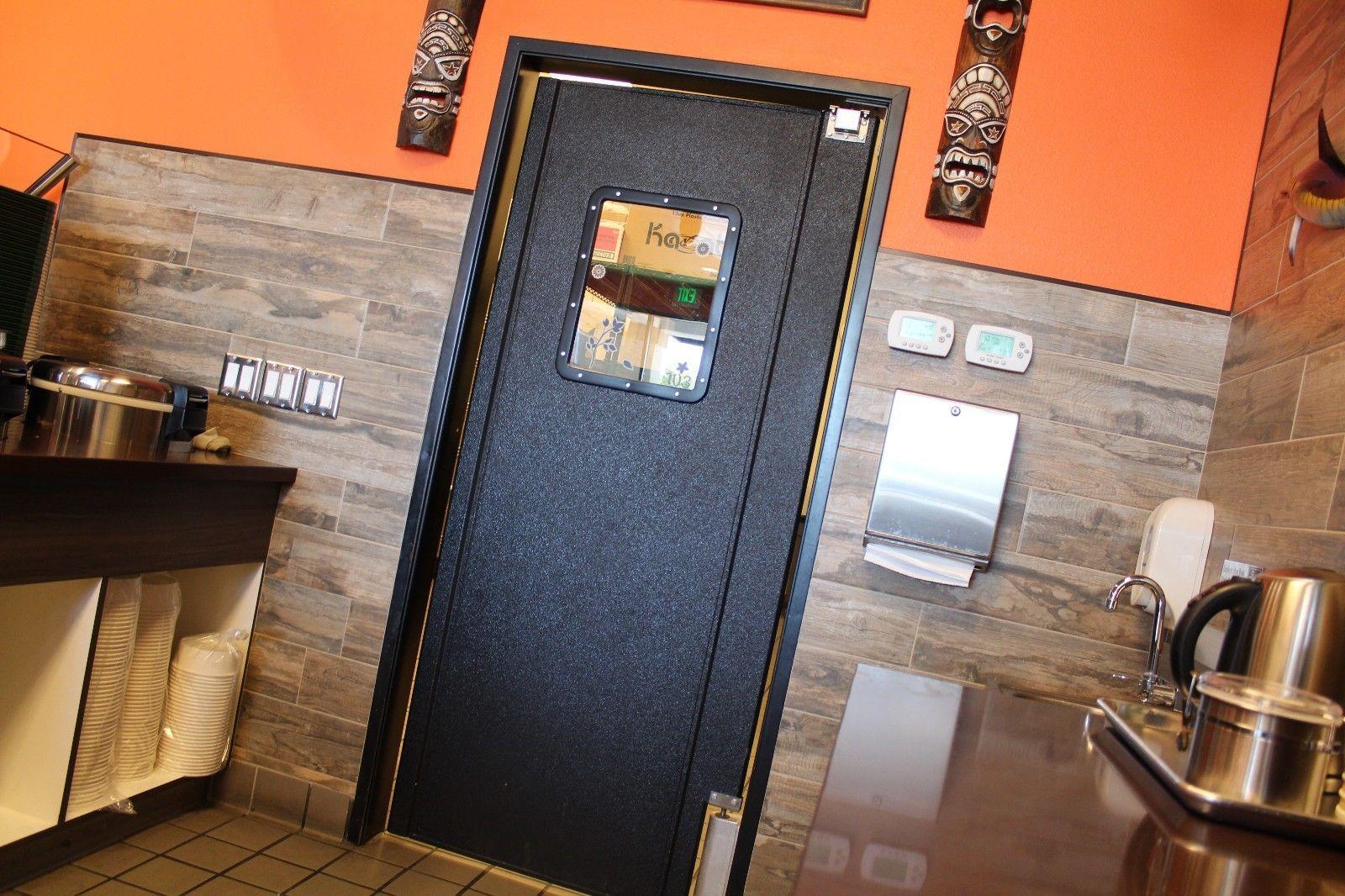 Restaurant Kitchen Doors : Factory new restaurant traffic door kitchen quot