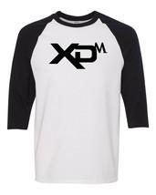 Springfield Armory XDM Black Logo Raglan Baseball T Shirt Gun Rights Whi... - $19.79+