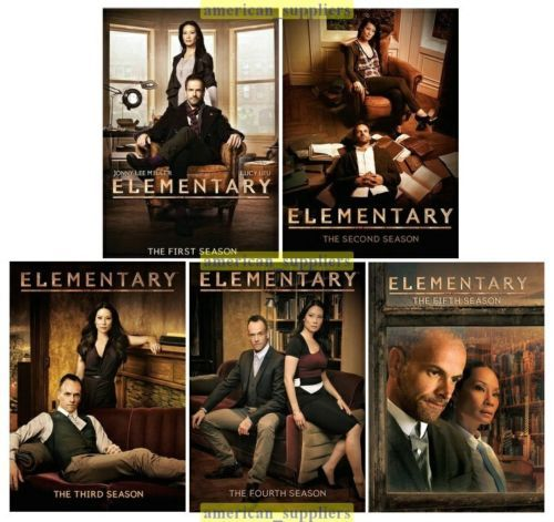 Elementary The Complete DVD TV Series Seasons 1 2 3 4 & 5 [New]