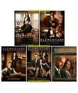 Elementary The Complete DVD TV Series Seasons 1 2 3 4 & 5 [New] - $77.77