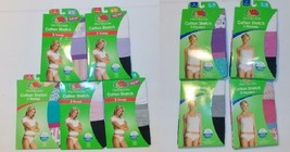 Fruit of the Loom Womens 3 Pack Thongs or Hipsters Sizes 6, 7, 8 or 9 NIP - $9.79