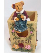 The Bearstone Collection Miss Ann Lighten's Pencil Holder #4016624 Teach... - $12.16