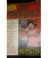 Vintage Hit Parader Magazine Back Issue April 1947 Jane Frazee Fun Adver... - $1.97