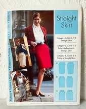 Sewing Step-By-Step Pattern Straight Skirt Misses' Sizes 4-22 Uncut No C... - $9.45
