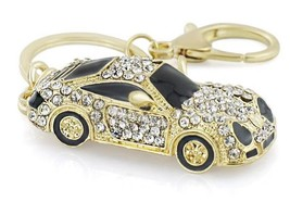 Keyring Keychain Cool Roadster Sports Car Crystal HandBag Pendant trendy... - $9.99