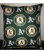 A's Pillow Oakland Athletics MLB Handmade in USA - $9.99