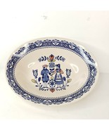 Vintage Johnson Brothers Hearts Flowers Serving Bowl Staffordshire Old G... - $34.99