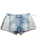 Seven7 Womens Jeans Shorts Size 7 Lace Detail NEW - $10.74