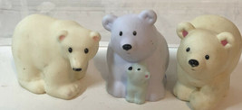 Fisher Price Little People Lot Of 3 Polar Bears - $8.90