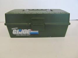 vintage 1980s official Gi joe tackle box by woodstream no tray - $19.99