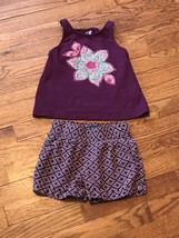 Gap Kids Girls 2 Piece Shorts & Tank Top Set Size XS - $9.49