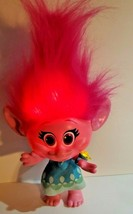 Hasbro DreamWorks Trolls Hug Time Poppy Talking Light Up Doll & Bracelet... - $28.66
