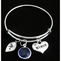 Niece Bracelet, Gift for Niece, Niece Jewelry, Niece Charm, Niece Pendant - $13.30