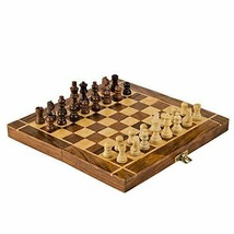 Rusticity Wood Magnetic Chess Set with (10x10 in (Without Foam Padding)) - $68.06