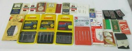 Vintage lot sewing needles machine and hand Milards Singer Dix & Rands 2... - $14.84