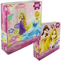 NEW Disney Assorted Princess Puzzle 9 x 10, 48 Piece  - $7.04