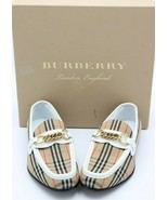 NIB Burberry Moorley Vintage Check Loafers 7.5 37.5 New - $374.35