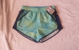 Under Armour Blue Fly By Novelty Shorts Girls Size YLG/G - $16.99