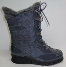 Aerosoles Size 7 M ENAMEL Grey Combo Winter Memory Foam Boots New Womens... - $117.81