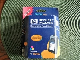 Hewlett Packard Inkjet Print Cartridge tri-color Hp 51641a - $9.99