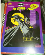Batman Returns Tim Burton 1990 film sticker book - $24.99