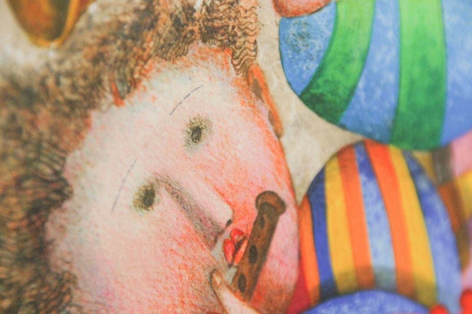 """"""" Musique pour les Yeux """" par Graciela Boulanger Lithographie sur Papier le de image 2"""
