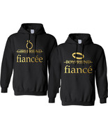 Couples Adult Hoodie Fiancee Fiance Engaged Proposal Matching Tops - $49.94