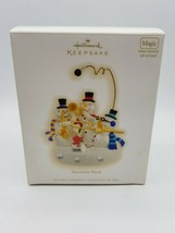 Hallmark Keepsake Magic Ornament - Snowman Band 2009 - New - $27.67
