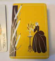 Vintage Fifth Avenue Playing Cards with Woman and Cattails  (Inv. 001) image 6