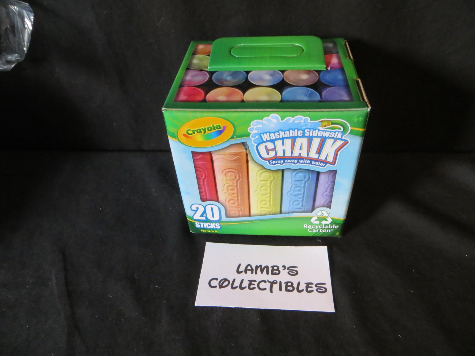 Crayola Washable sidewalk chalk 20 pieces and 50 similar items
