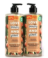 2 Ct Love Beauty And Planet 22 Oz Shea Butter & Sandalwood Sulfate Free ... - $25.99