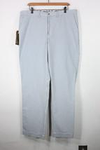 Ralph Lauren polo seersucker pants 36 32 blue lake new nwt $100 - $60.00