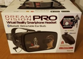 Dream Vision Pro Virtual Reality VR Smartphone Headset BTooth Controller... - £7.07 GBP