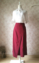 Summer Khaki Linen Pants Wide Leg LINEN Cotton PANTS Women Wrap Palazzo Pants image 4