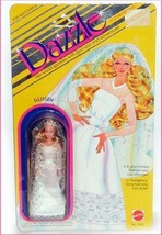 DAZZLE DOLL GLISSEN Mattel 1981 New Old Stock in Package Miniature FASHI... - $27.72