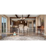 192-Inch Super Wide Adjustable Baby Gate and Play Yard, 4-In-1, Bonus Kit - $196.01