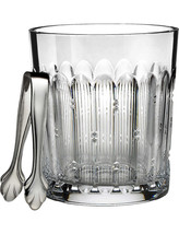 Waterford Crystal Mixology TALON Ice Bucket with Tongs New # 156829 - $361.35