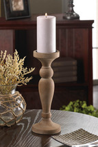 Artisan Wooden Candle Holder - $24.95