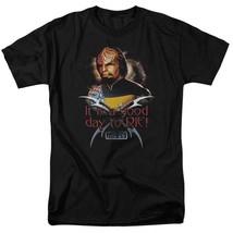 Star Trek Worf t-shirt Good day to Die Next Generation graphic tee CBS1086 image 1
